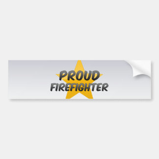 Proud Firefighter Bumper Stickers
