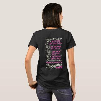 Proud Firefighter Wife Shirt