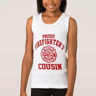 Proud Firefighter's Cousin Singlet