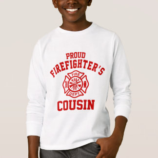 Proud Firefighter's Cousin T-Shirt