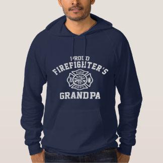 Proud Firefighter's Grandpa Hoodie