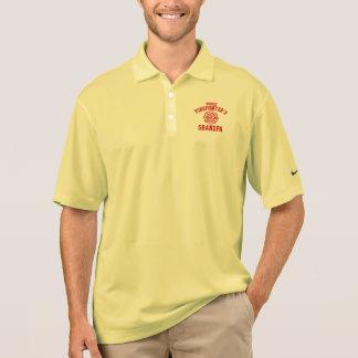 Proud Firefighter's Grandpa Polo Shirt