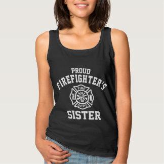 Proud Firefighter's Sister Singlet