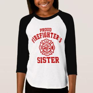Proud Firefighter's Sister T-Shirt