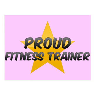 Proud Fitness Trainer Post Card