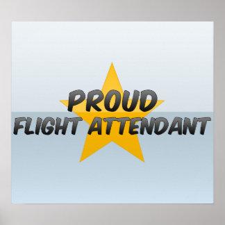 Proud Flight Attendant Poster