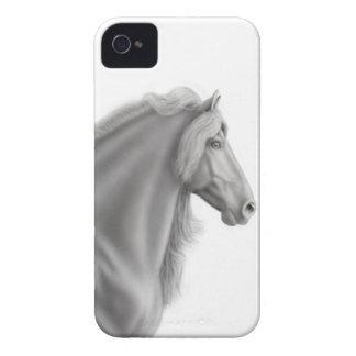 Proud Friesian Horse Blackberry Bold Case