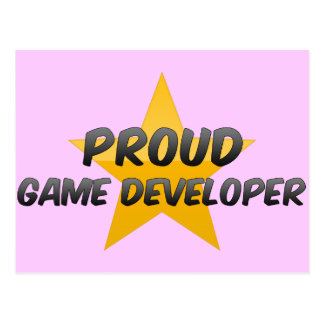 Proud Game Developer Postcard