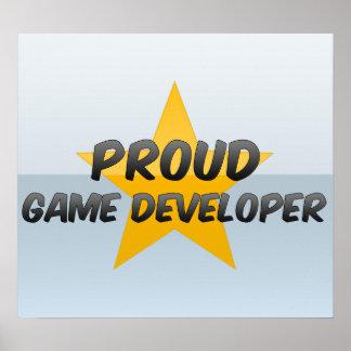 Proud Game Developer Print