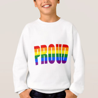 PROUD (Gay Pride Rainbow) Sweatshirt