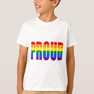 PROUD (Gay Pride Rainbow) T-Shirt