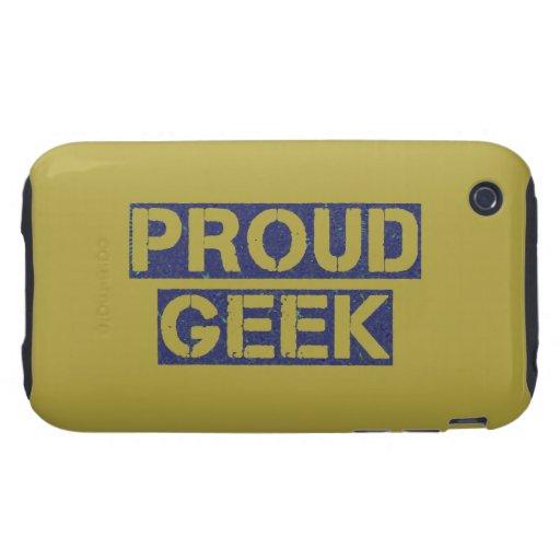 Proud Geek iPhone 3 Tough Case