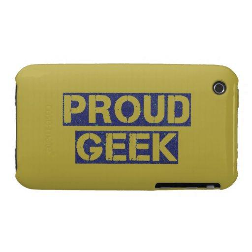 Proud Geek iPhone 3 Cases