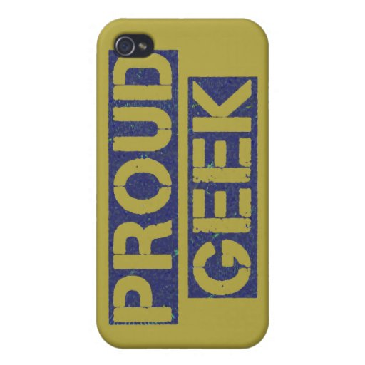 Proud Geek iPhone 4/4S Cover