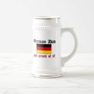 Proud German Dad Beer Stein