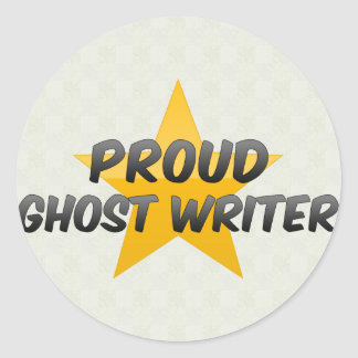 Proud Ghost Writer Stickers