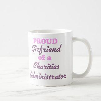 Proud Girlfriend of a Charities Administrator Coffee Mugs