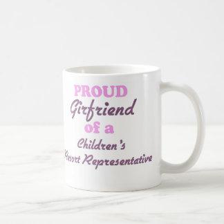 Proud Girlfriend of a Children s Resort Representa Coffee Mugs