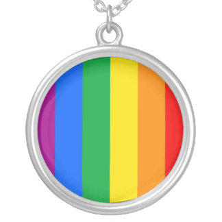 Proud GLBTQI Silver Plated Necklace