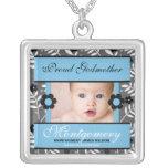 Proud Godmother Personalised Photo Necklace