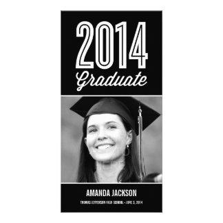 Proud Grad Graduation Announcement Photo Card