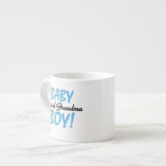 Proud Grandma Baby Boy Gifts Espresso Mug