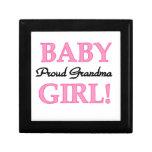 Proud Grandma Baby Girl Gifts Gift Box