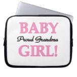 Proud Grandma Baby Girl Gifts Laptop Sleeves