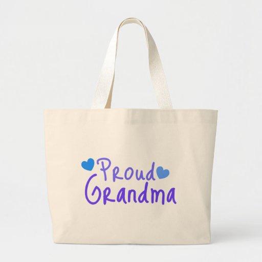 Proud Grandma Tote Bags