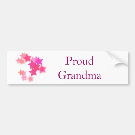Proud Grandma Bumper Stickers