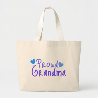 Proud Grandma Large Tote Bag