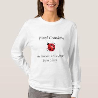 Proud Grandma of a Precious Angel from China T-Shirt