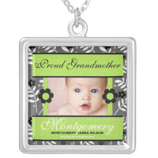 Proud Grandmother Personalized Photo Necklace