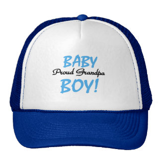 Proud Grandpa Baby Boy Tshirts and Gifts Cap