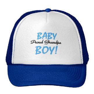 Proud Grandpa Baby Boy Tshirts and Gifts Hats