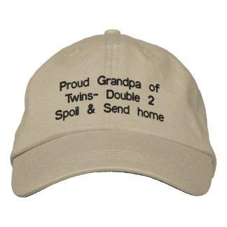 Proud Grandpa Hat Embroidered Cap