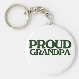 Proud Grandpa Key Ring