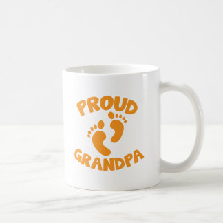 Proud Grandpa with cute little feet Coffee Mug