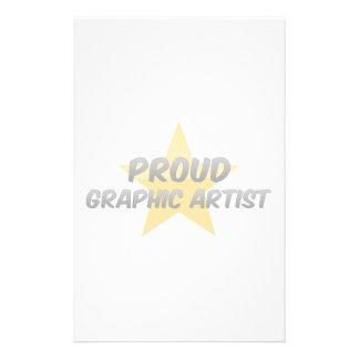 Proud Graphic Artist Custom Stationery