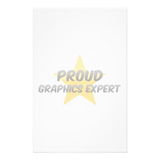 Proud Graphics Expert Stationery