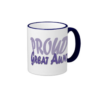Proud Great Aunt Coffee Mugs