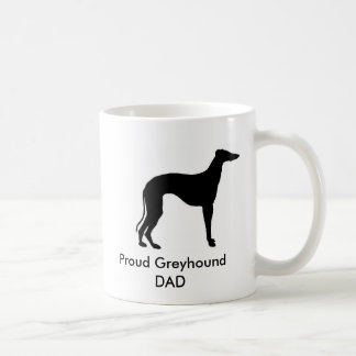 Proud Greyhound  DAD Coffee Mug