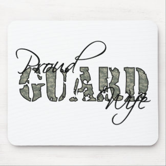 Proud Guard Wife Mouse Pad