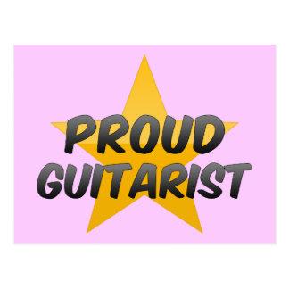 Proud Guitarist Postcard