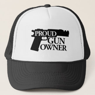 Proud Gun Owner Trucker Hat