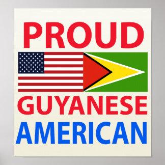 Proud Guyanese American Poster