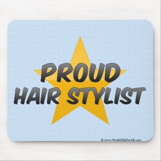 Proud Hair Stylist Mouse Pad