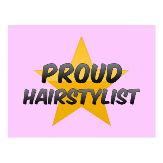 Proud Hairstylist Post Cards