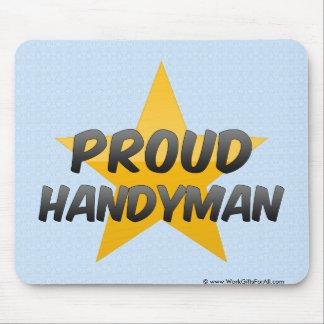 Proud Handyman Mouse Pad