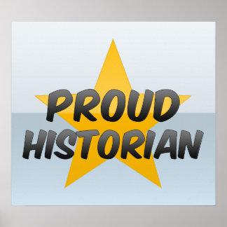 Proud Historian Print